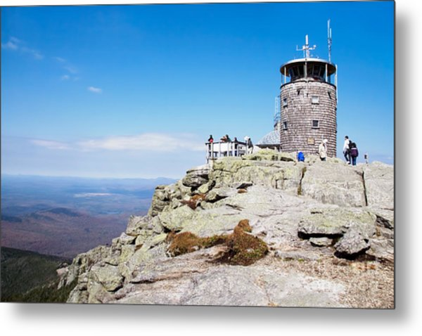 Whiteface Mtn. Tower Lookout Metal Print