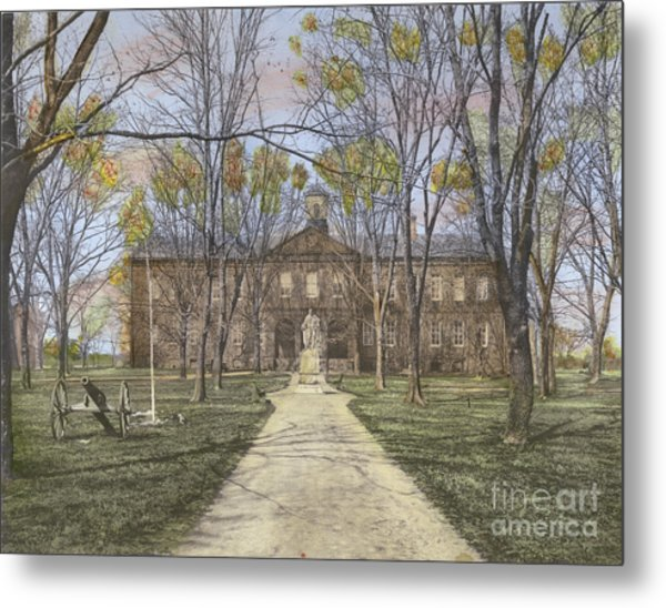William And Mary College Williamsburg, Virginia Metal Print by Susan Bock