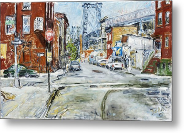 Williamsburg3 Metal Print by Joan De Bot