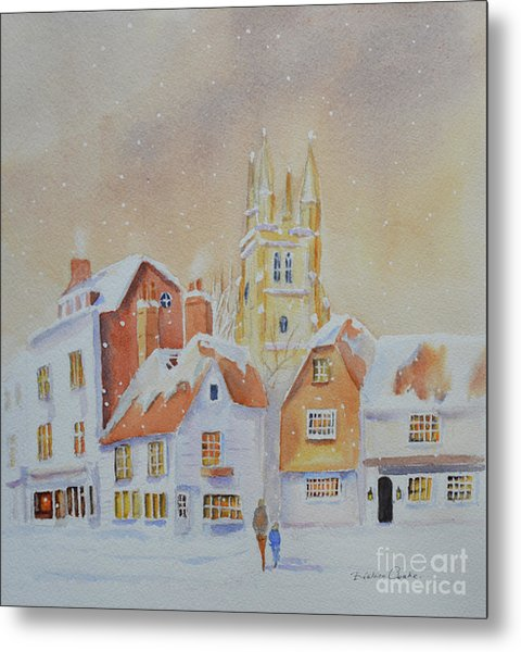 Winter In Tenterden Metal Print