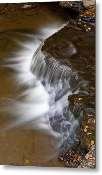 Wolf Creek At Letchworth State Park Metal Print