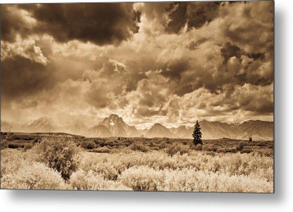 Wyoming Sky Metal Print by Patrick  Flynn
