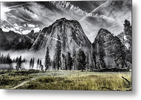 Yosemite Dawn Metal Print