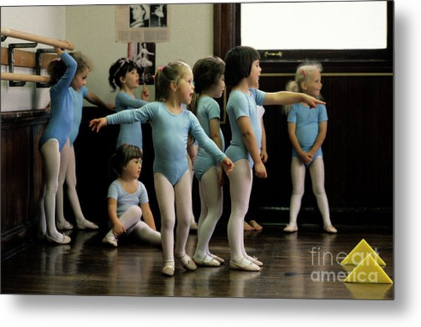 Young Ballet Dancers  Metal Print