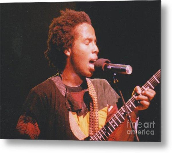 Ziggy Marley Metal Print by Mia Alexander
