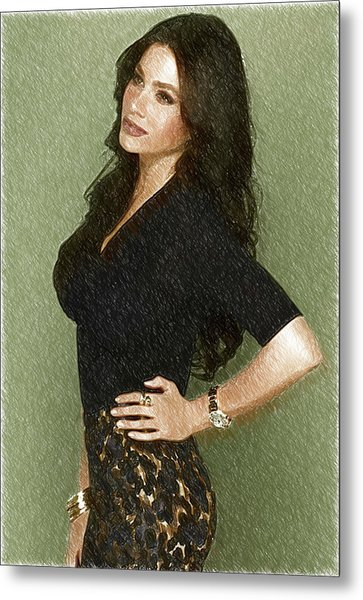 Celebrity Sofia Vergara  Metal Print
