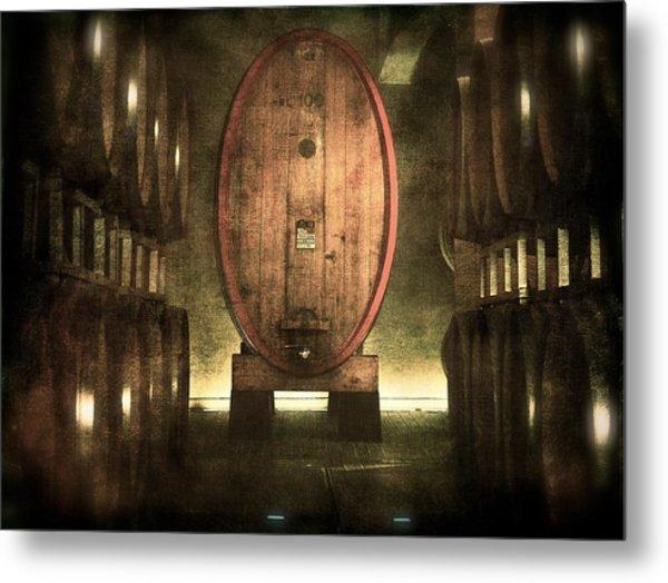 100 Hl - Italian Red Wine Metal Print