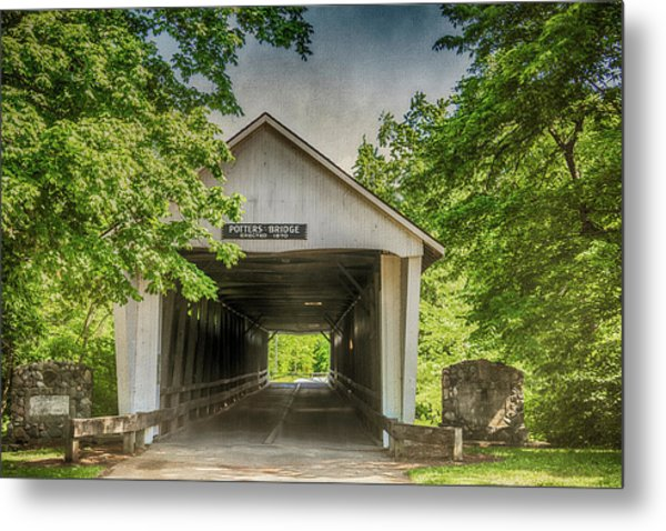10700 Potter's Bridge Metal Print