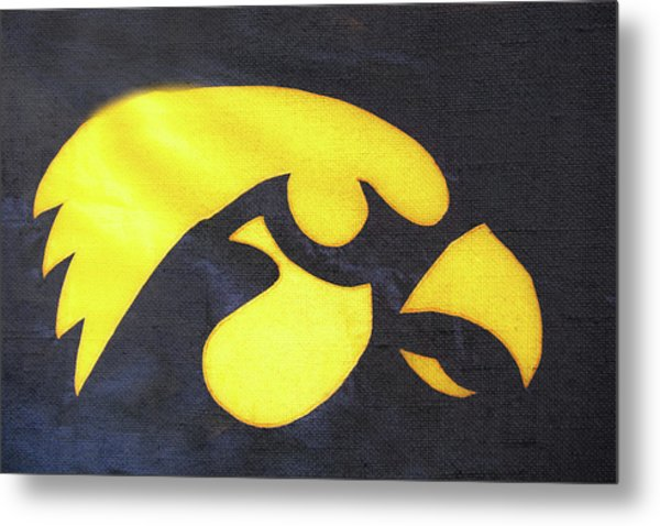 10724  Iowa Hawkeye Metal Print