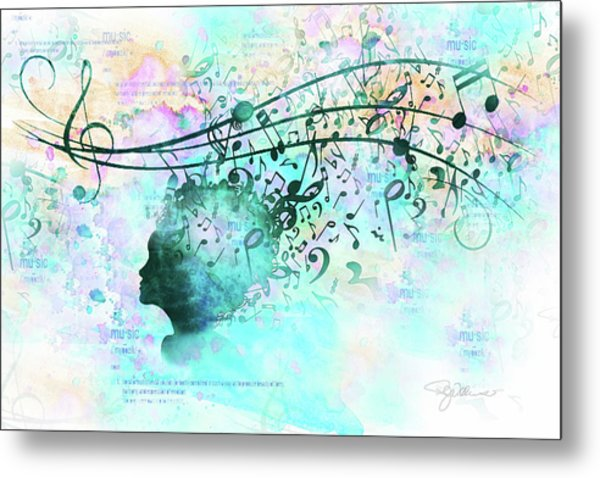 10846 Melodic Dreams Metal Print