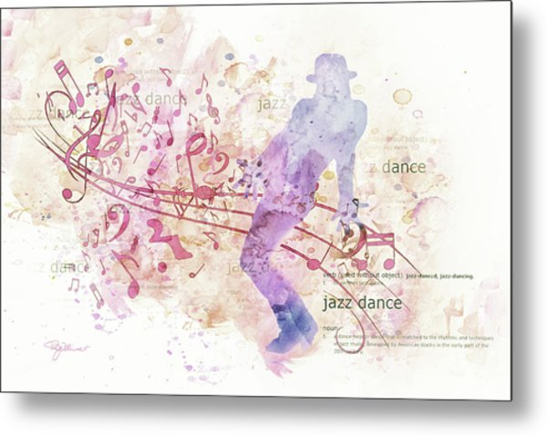 10849 All That Jazz Metal Print