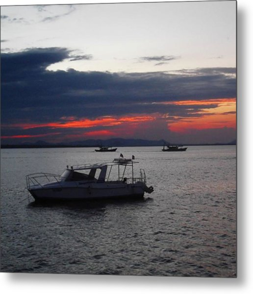 #10yearsoftravel Another Amazing Sunset Metal Print by Dante Harker