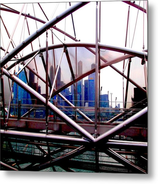 #10yearsoftravel Funny How A Bit Of Odd Metal Print by Dante Harker