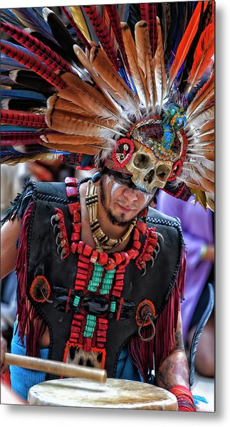 Dia De Los Muertos - Day Of The Dead 10 15 11 Metal Print