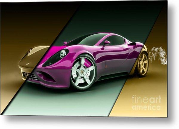 Ferrari Collection Metal Print