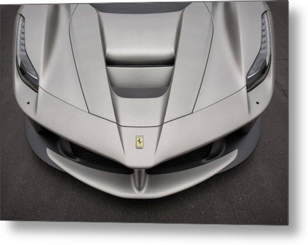 Metal Print featuring the photograph #ferrari #laferrari by ItzKirb Photography