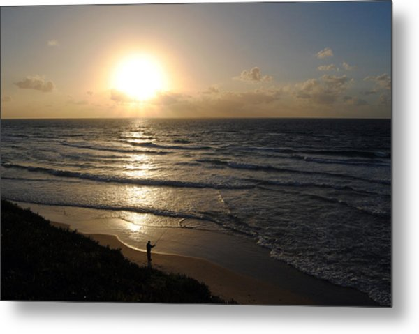 Sunset At Jaffa Beach 5 Metal Print