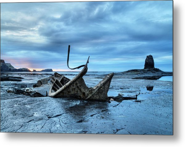 Admiral Von Tromp At Black Nab Metal Print