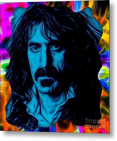 Frank Zappa Collection Metal Print
