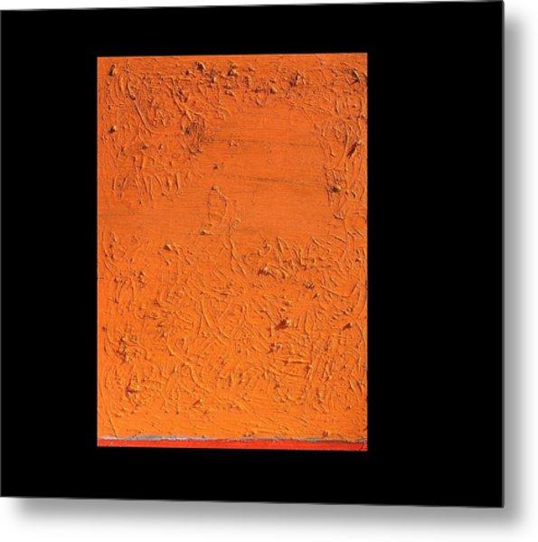 Orange No.11 16 X 20 2010 Metal Print