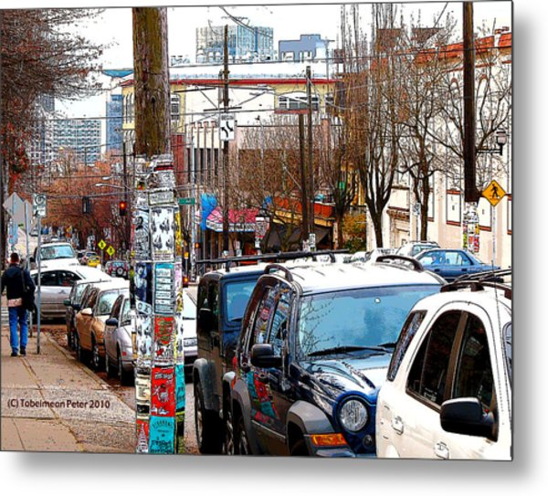 12th And Pike St. Capitol Hill Metal Print