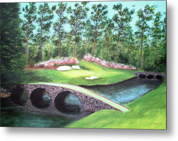 12th Hole At Augusta National Metal Print
