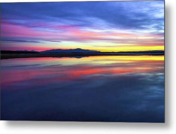 Lake Winnipesaukee - Layers Metal Print
