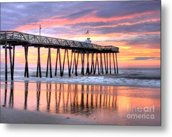 14th Street Pier Ocean City Nj Metal Print