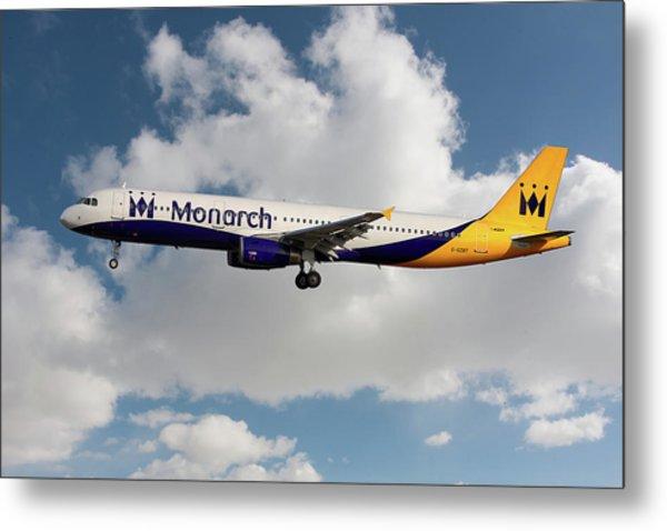 Monarch Airbus A321-231 Metal Print