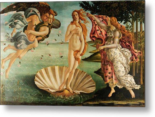The Birth Of Venus Metal Print