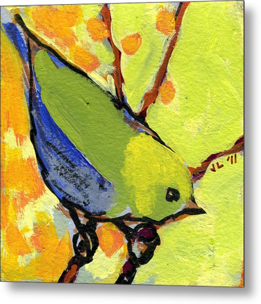 16 Birds No 2 Metal Print