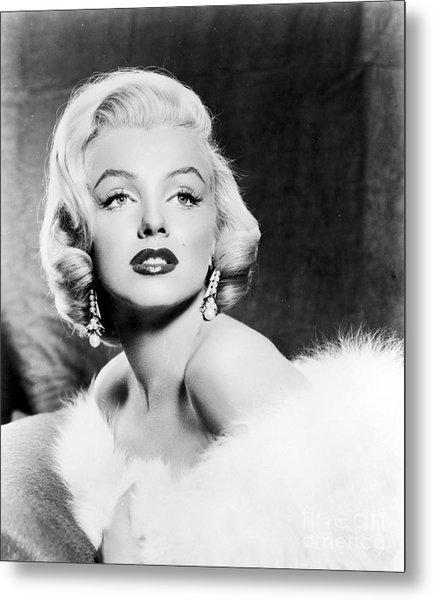 Marilyn Monroe (1926-1962) Metal Print