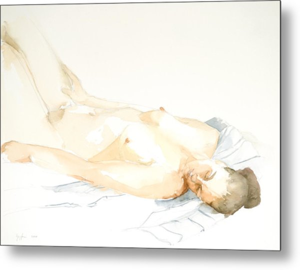 Nude Series Metal Print by Eugenia Picado