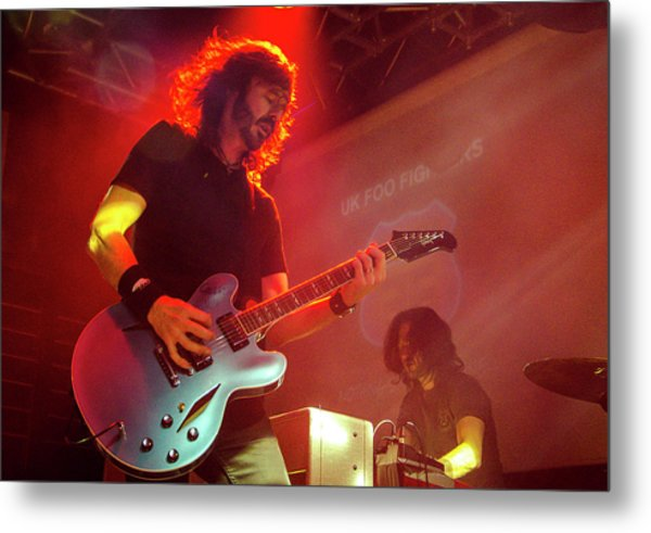 Uk Foo Fighters Live @ Edinburgh Metal Print