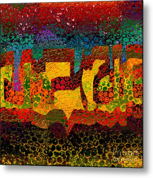 1732 Abstract Thought Metal Print