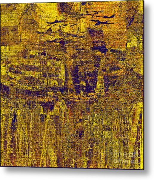 1748 Abstract Thought Metal Print