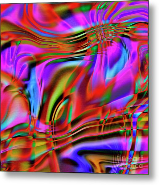 1783 Abstract Thought Metal Print