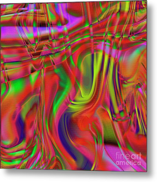1799 Abstract Thought Metal Print