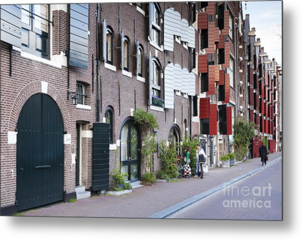 Streets Of Amsterdam Metal Print by Andre Goncalves