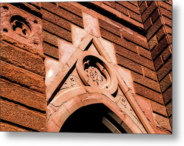 Metal Print featuring the photograph 1875 Church by Onyonet  Photo Studios