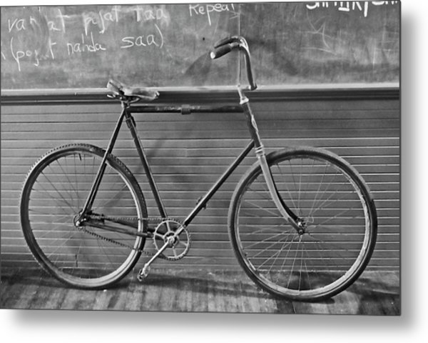 1895 Bicycle Metal Print