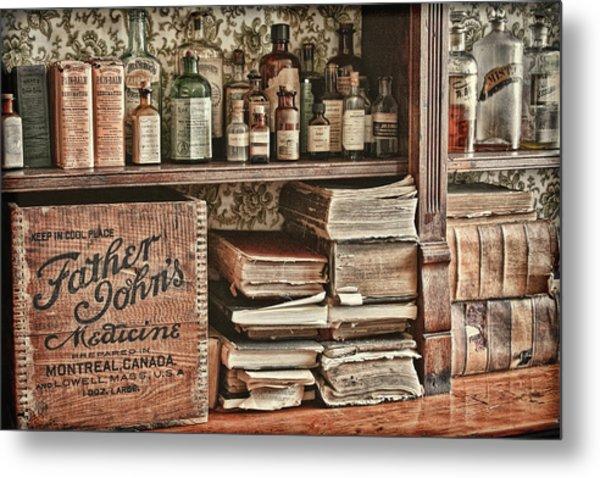 18th Century Pharmacy Metal Print