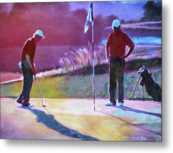 18th Hole Metal Print