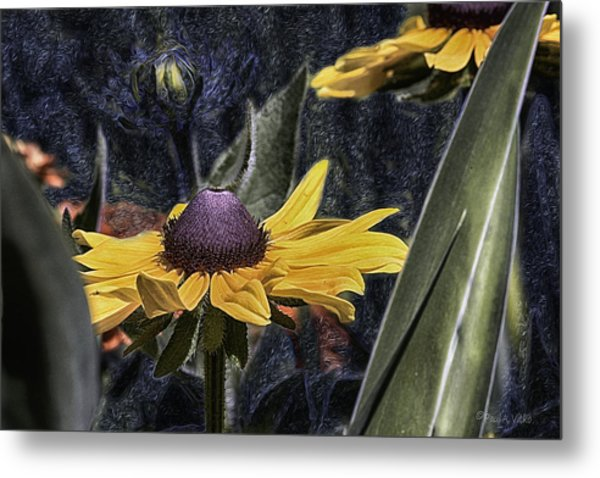 Thinking Of Vincent Van Gogh Metal Print