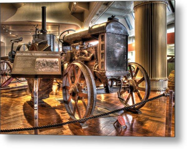 1917 Model 1 Fordson Tractor Dearborn Mi Metal Print