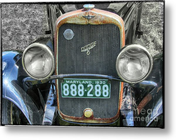 1930 Dodge Six  Metal Print by Steven Digman