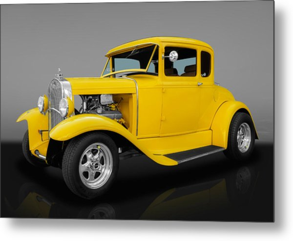 1930 Ford Coupe Metal Print
