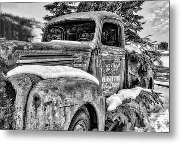 1930's Ford One Ton Metal Print