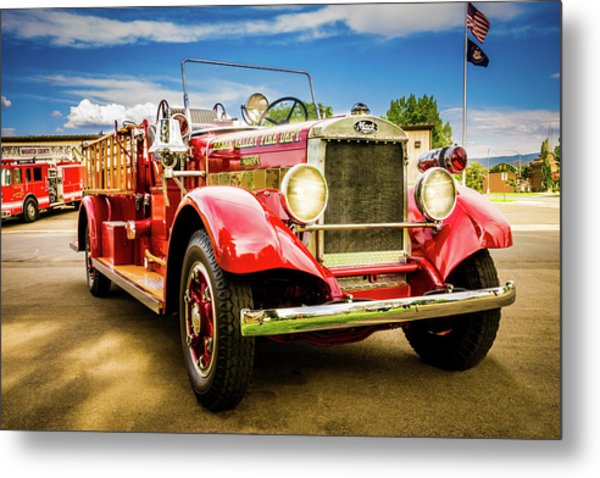 1931 Mack - Heber Valley Fire Dept. Metal Print