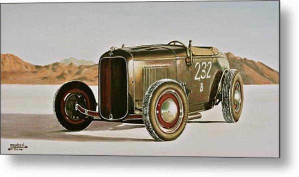 1932 Ford Rolling Bones Roadster Metal Print by Branden Hochstetler